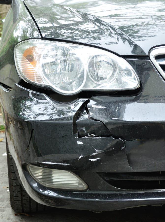 汽车易碎事故 库存图片