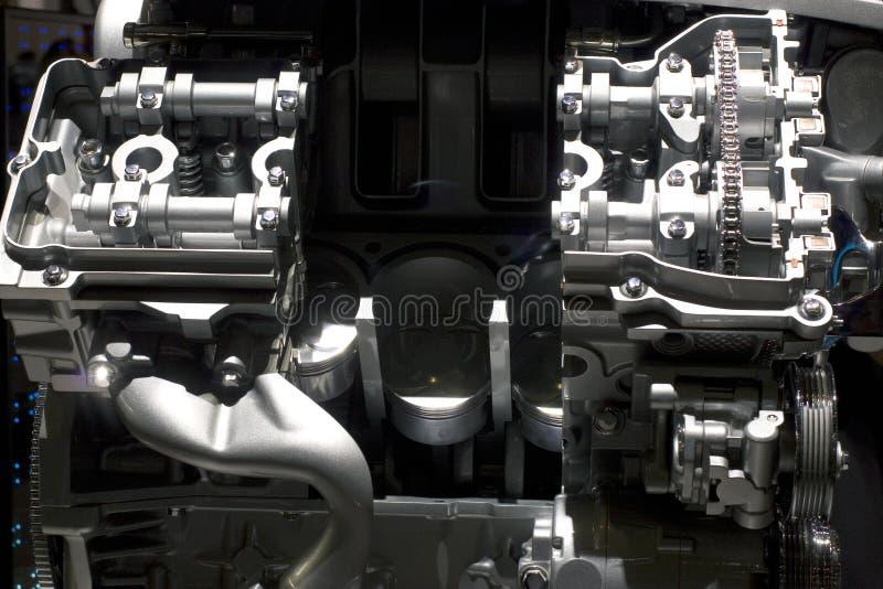 汽车显示引擎 库存照片