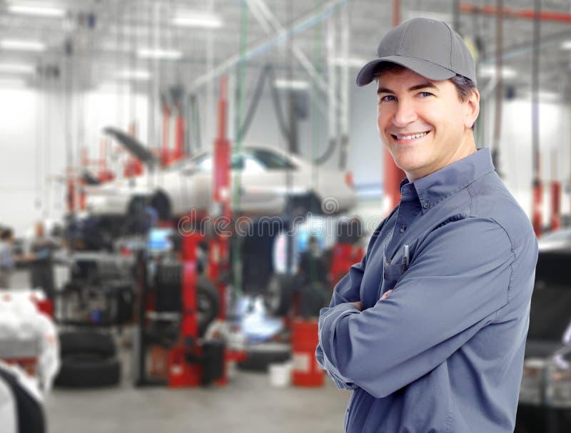 汽车机械师。 图库摄影