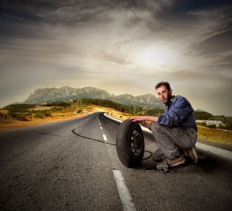 汽车机械师 免版税库存图片