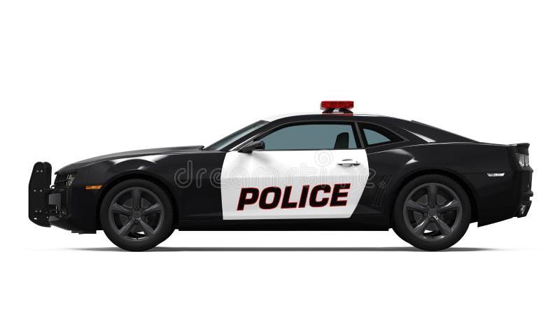 汽车查出的警察 免版税库存图片