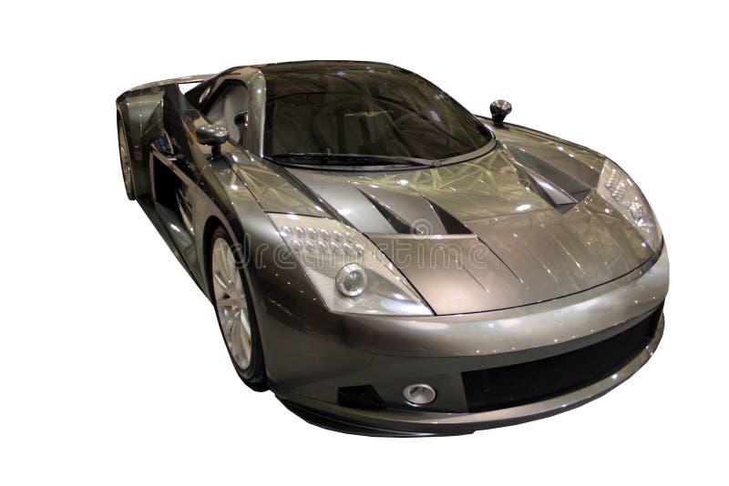 汽车概念查出在白色的me412 免版税库存图片