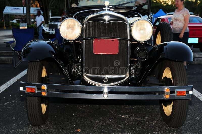 1931汽车正面图  免版税库存图片
