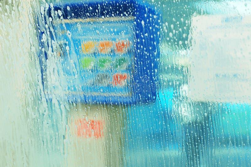 汽车洗涤物 图库摄影