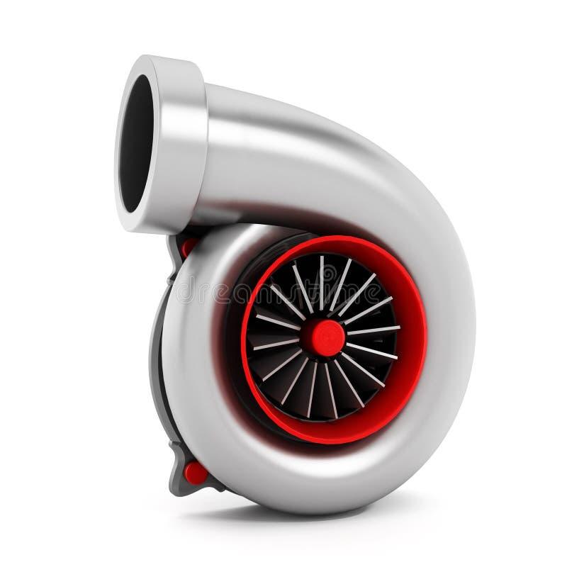 汽车涡轮 向量例证
