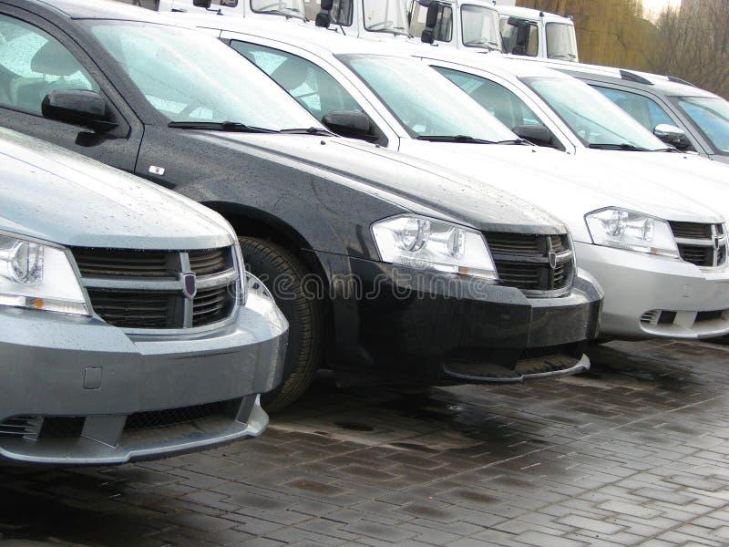 汽车现代样式 免版税图库摄影