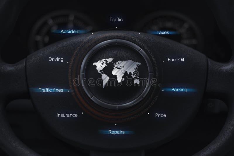 汽车用户概念 图库摄影