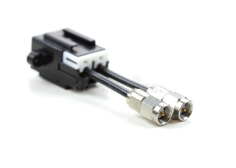 汽车电接插件 库存图片
