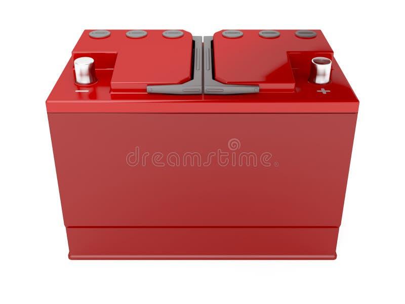汽车电池 向量例证