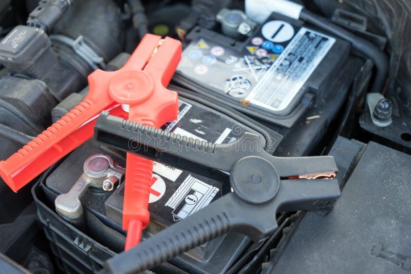 汽车电池 图库摄影
