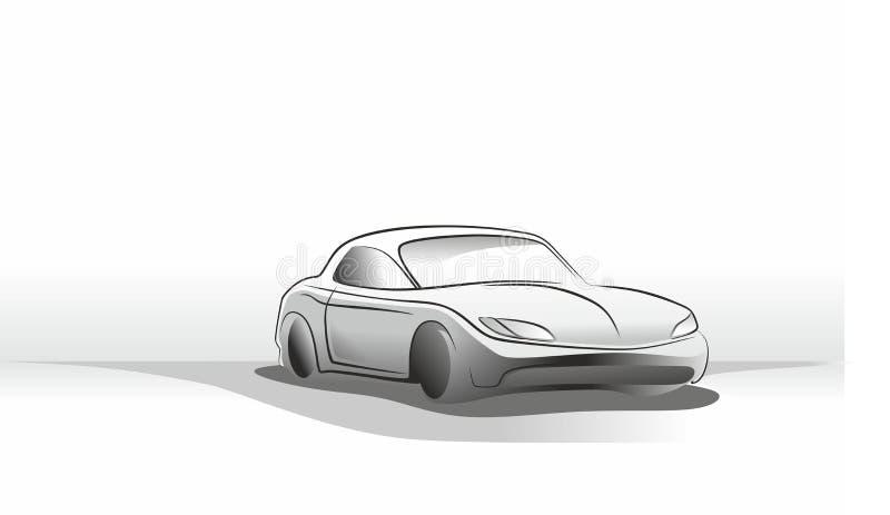 汽车研究 库存例证