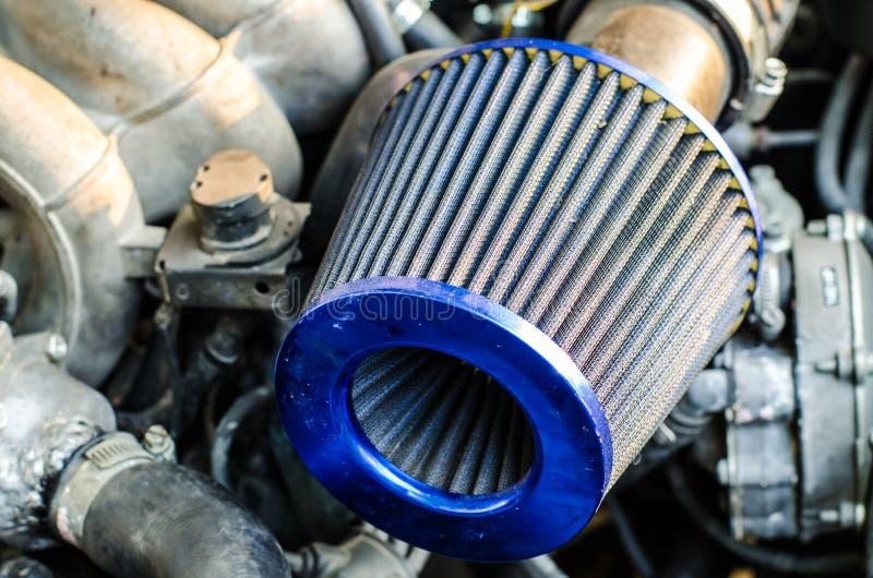 汽车空气过滤器 库存照片