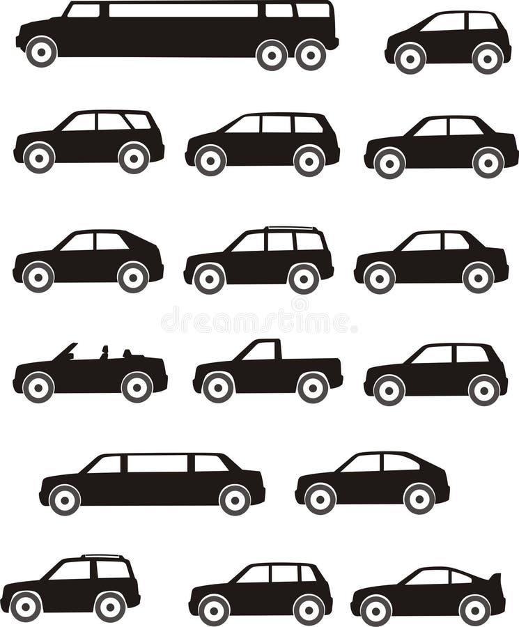 汽车类型 库存例证