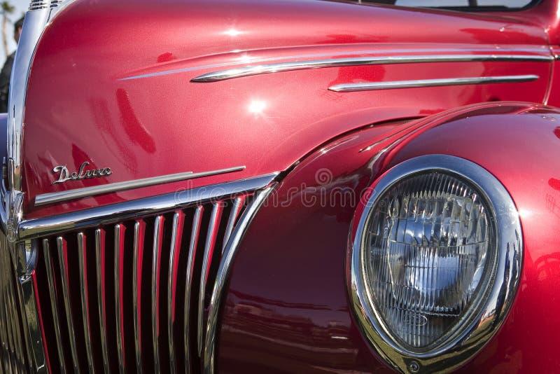 汽车经典奢侈 库存图片