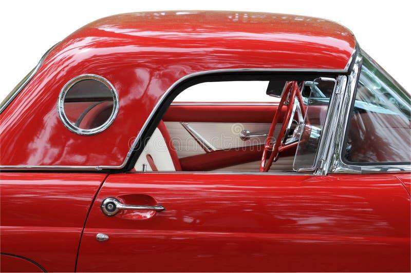 汽车经典红色 库存图片