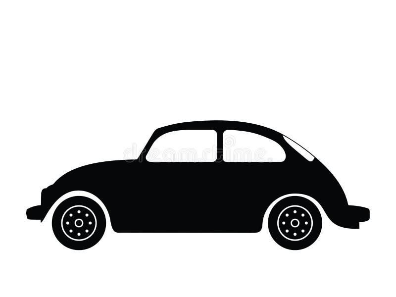 汽车老向量 皇族释放例证