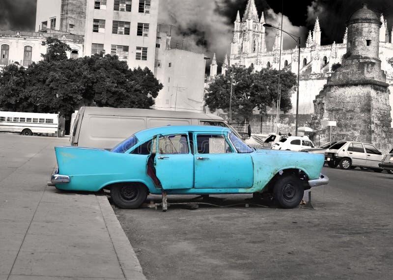 汽车老哈瓦那 库存照片