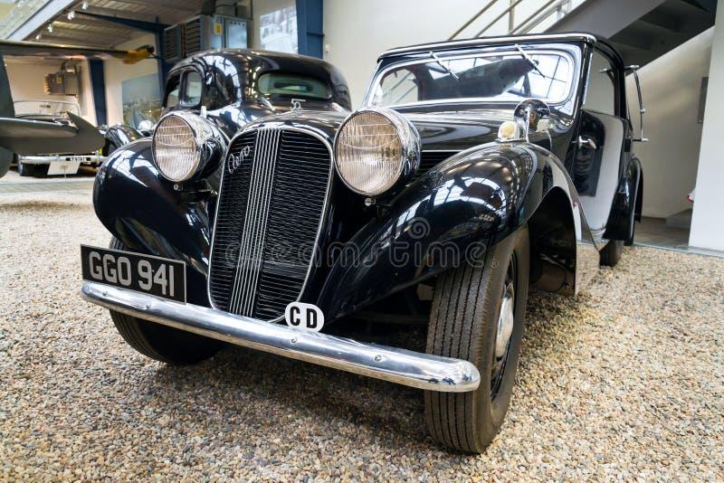 汽车航空50 HP从年1939年 免版税库存图片