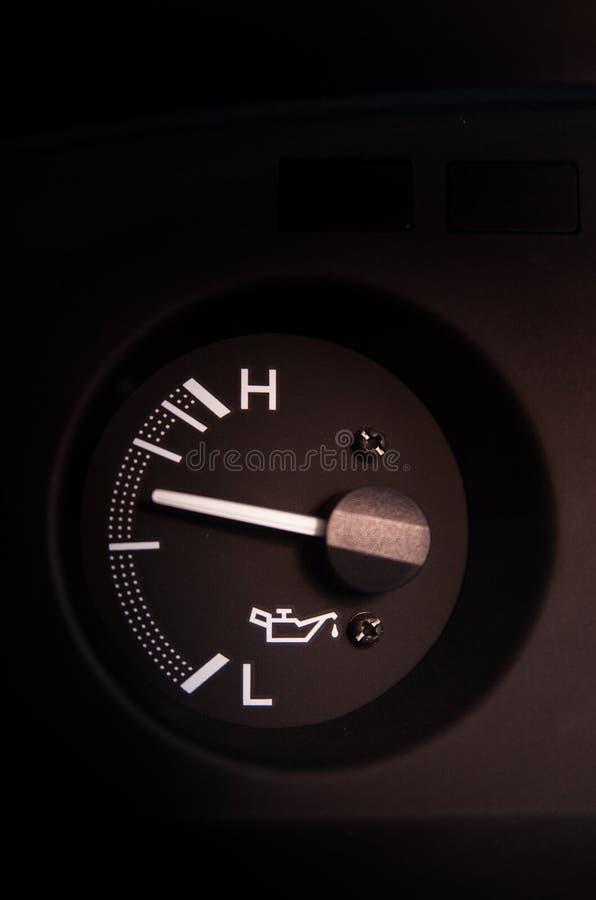 汽车英里 免版税库存图片