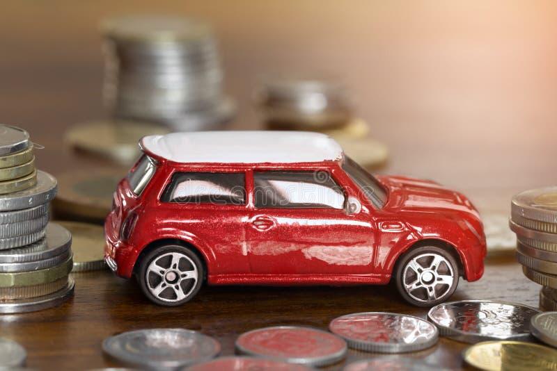汽车财务或出租的概念 免版税库存图片