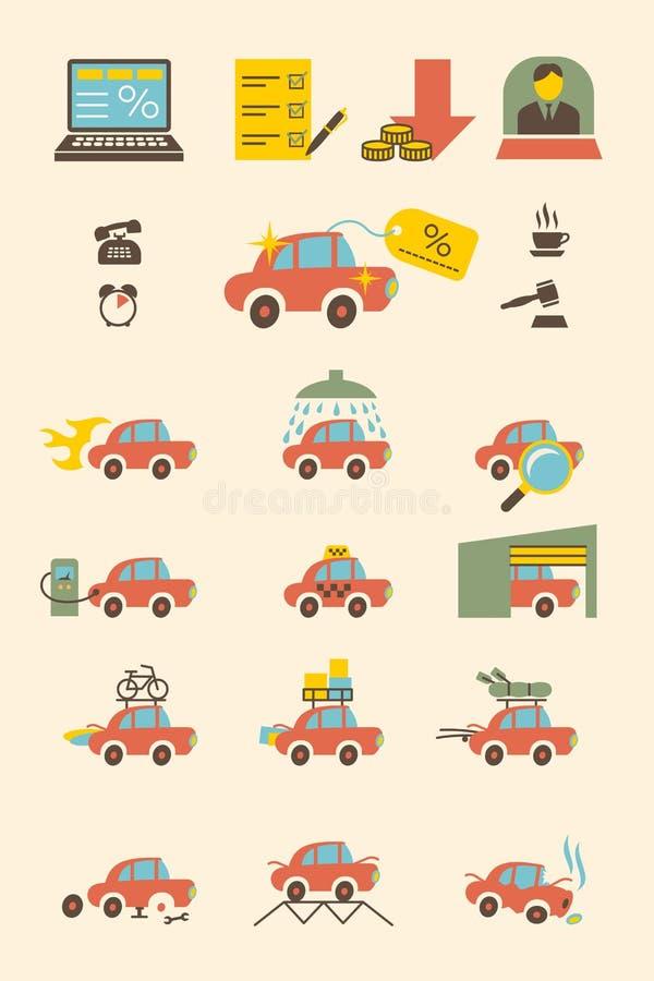 汽车购买和每日使用 免版税库存照片