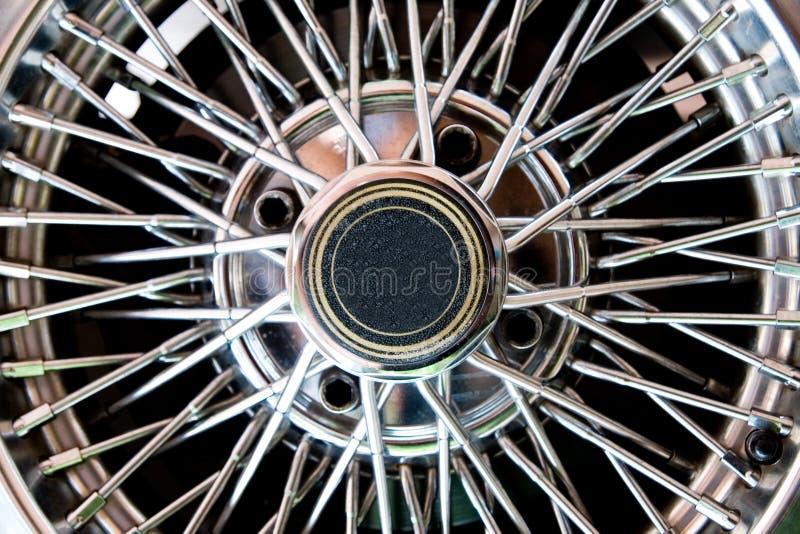 汽车轮子的接近的s 免版税库存图片