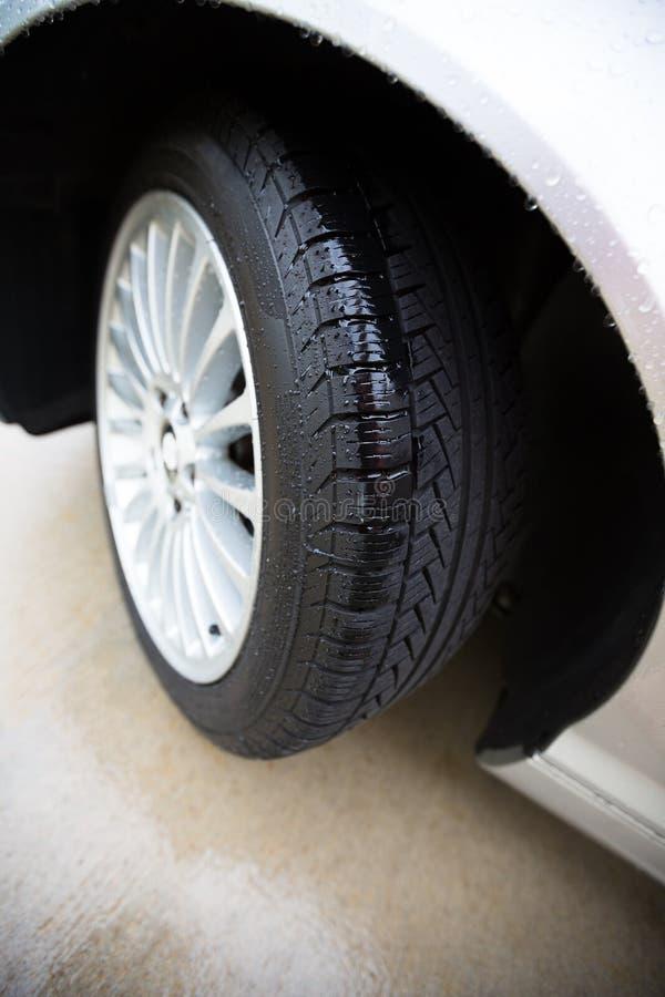 汽车轮胎 免版税库存照片