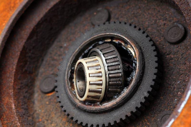 汽车轴承分开轮子 图库摄影