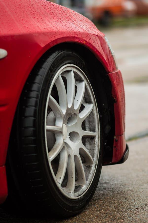 汽车辅助部件汽车修理零件autosport 免版税库存照片
