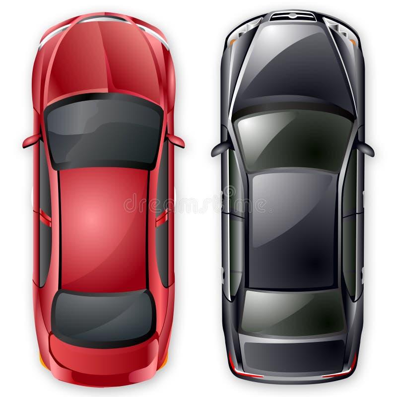 汽车选件类d向量 库存例证