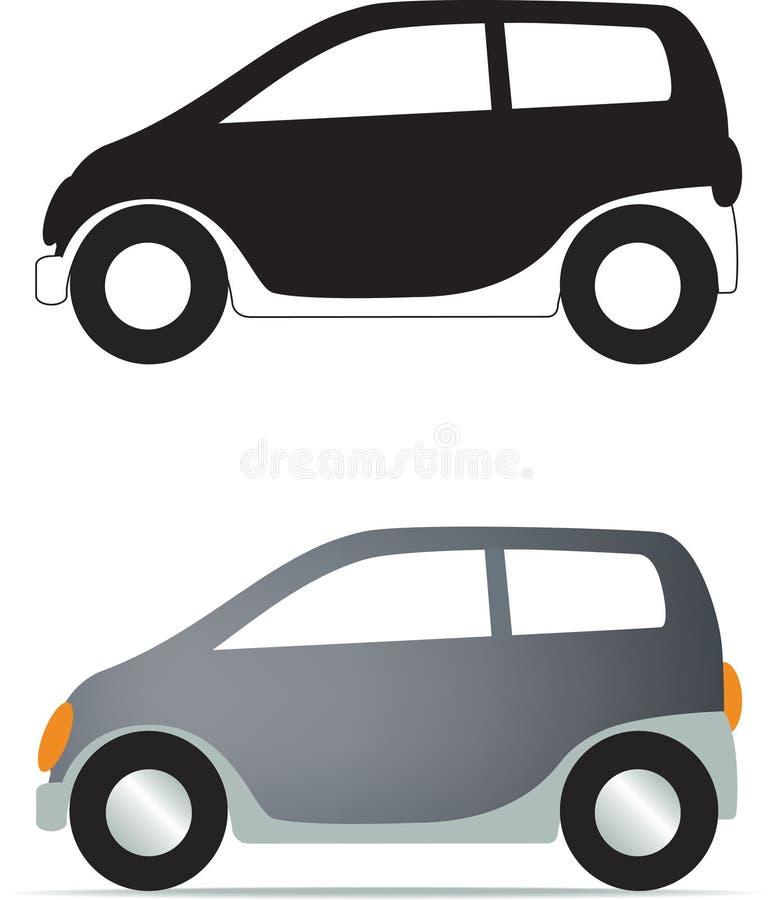 汽车通用符号 库存例证
