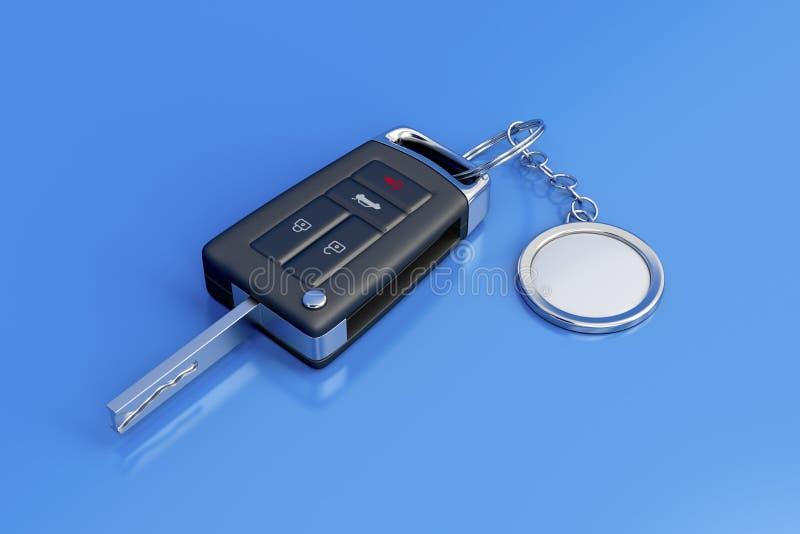 汽车钥匙 库存例证