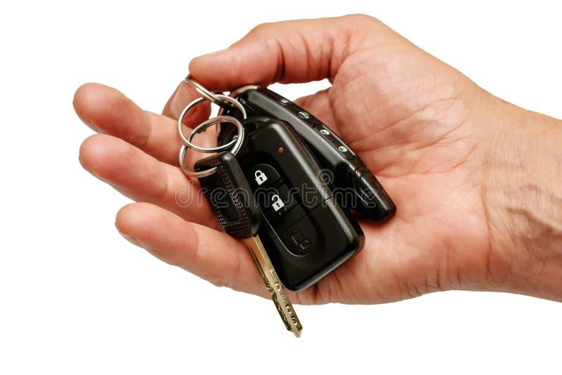 汽车钥匙 免版税库存照片