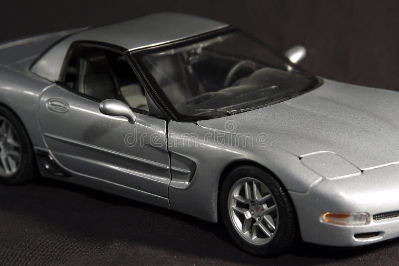 汽车银色体育运动 免版税库存图片