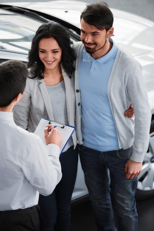 汽车销售 免版税库存图片