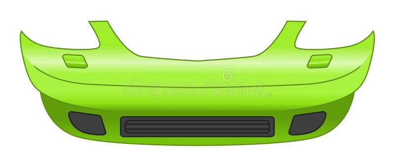 汽车防撞器 向量例证