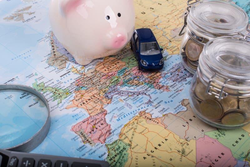 汽车预算 库存照片