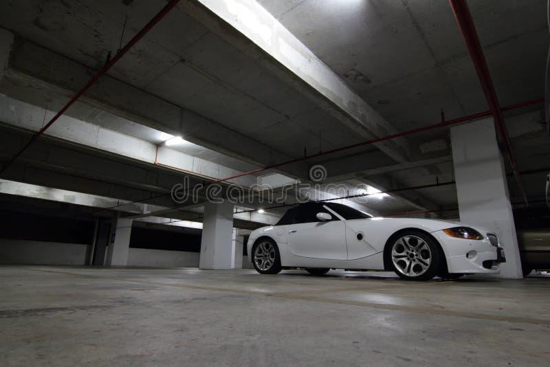 汽车carpark 库存图片