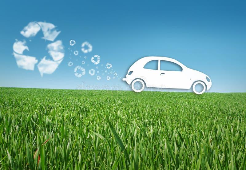 汽车eco 库存照片