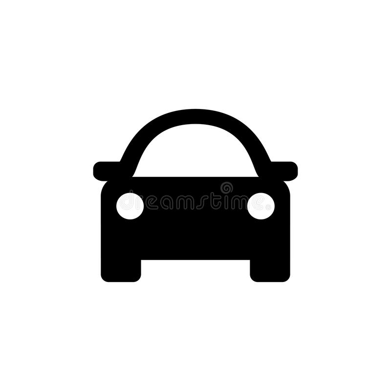 汽车eps10图标例证向量 皇族释放例证