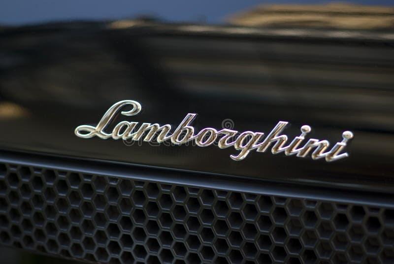 汽车lamborghini体育运动 免版税库存照片