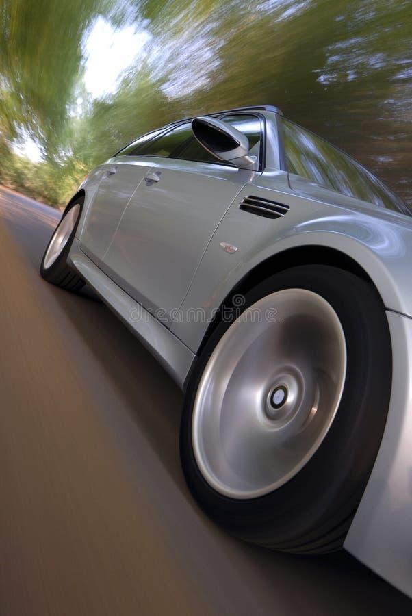 汽车ligh加速的线索 免版税库存图片