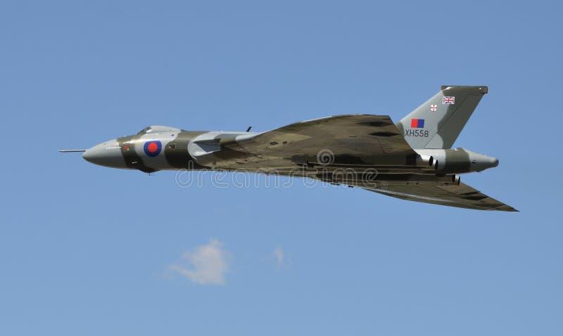 沃尔坎火山轰炸机XH-558 图库摄影