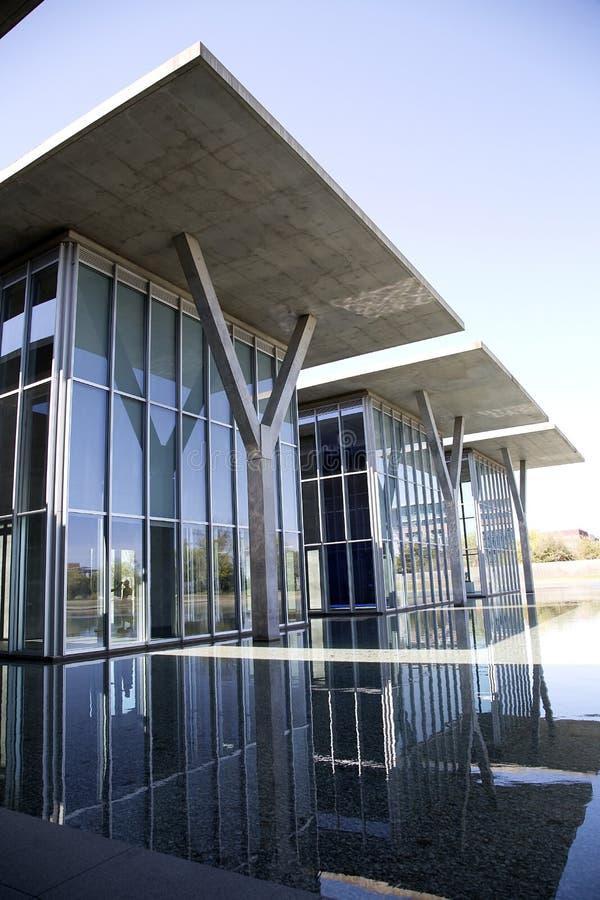 沃思堡好的现代艺术博物馆  免版税库存照片