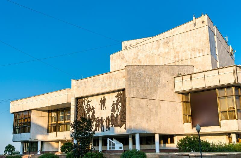 沃罗涅日音乐堂在俄罗斯 免版税库存照片