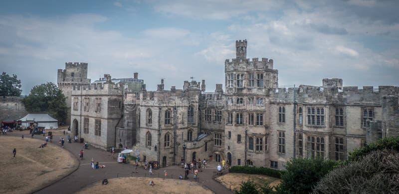 沃里克城堡,英国 免版税库存照片