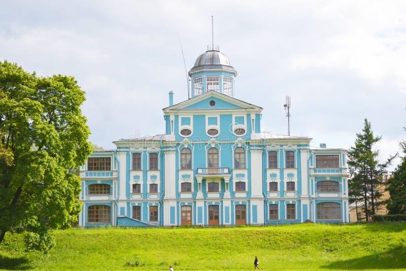 沃龙佐夫宫殿或Novoznamenka, StPetersburg 库存图片