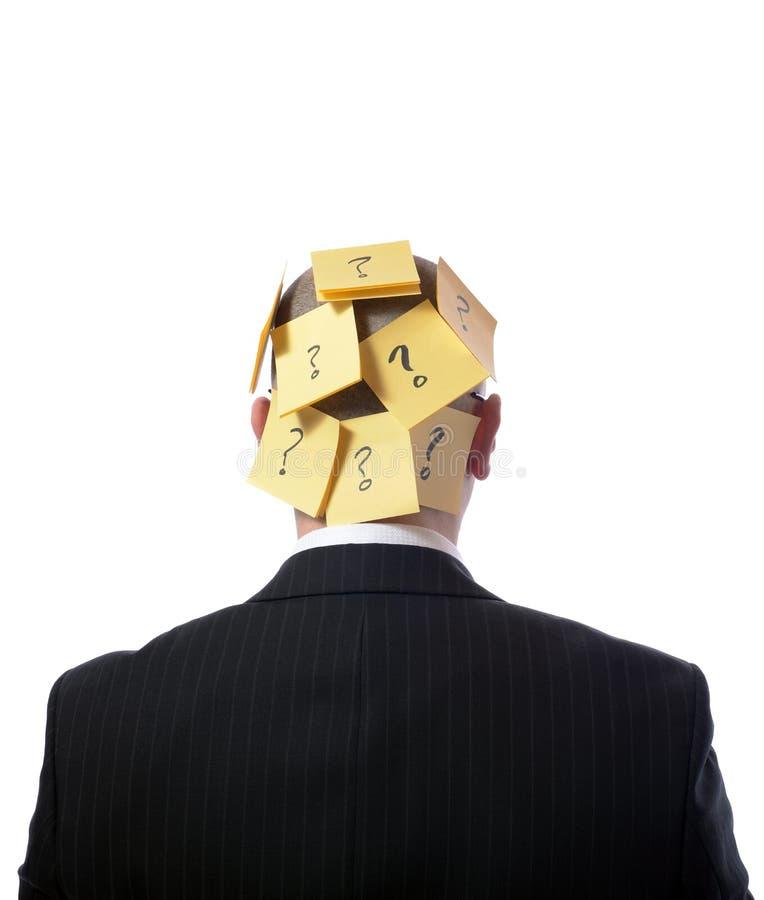 沉思 免版税库存图片
