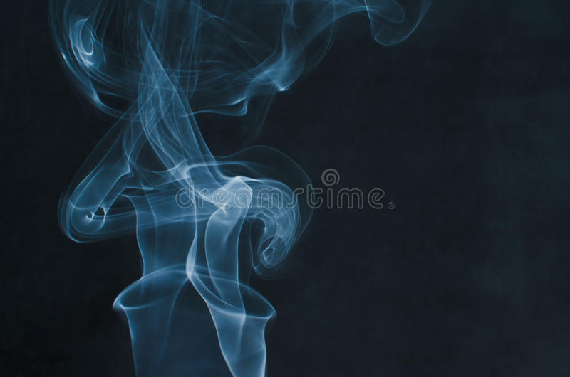 阴沉的烟 库存照片