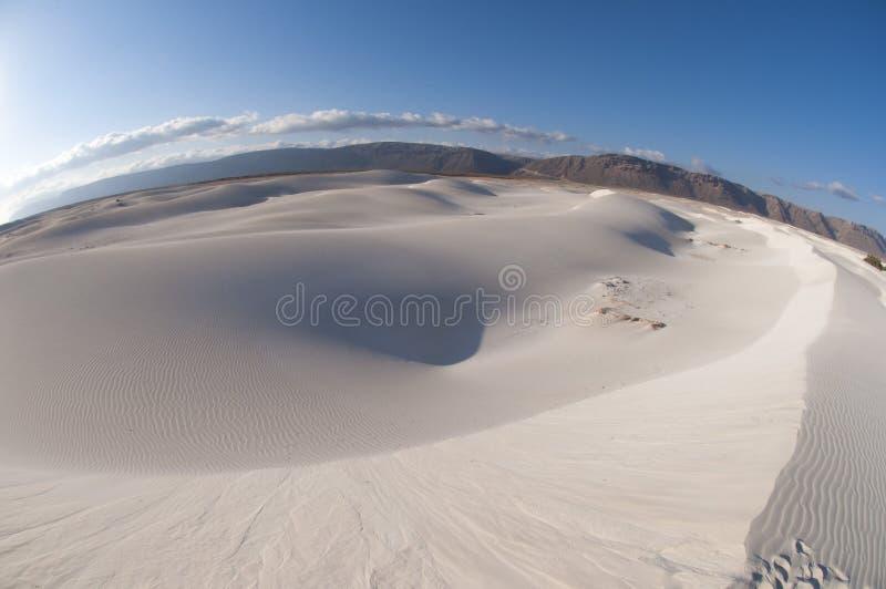 沙丘在索科特拉岛 免版税图库摄影
